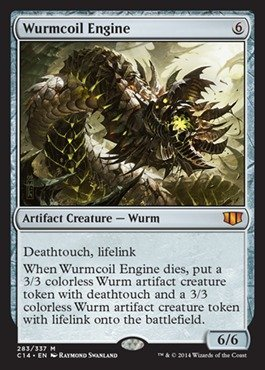 Magic: the Gathering - Wurmcoil Engine (283/337) - Commander 2014 by Magic: the Gathering