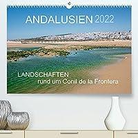 Andalusien - Landschaften rund um Conil de la Frontera (Premium, hochwertiger DIN A2 Wandkalender 2022, Kunstdruck in Hochglanz): Landschaften eines andalusischen Kuestenorts (Monatskalender, 14 Seiten )