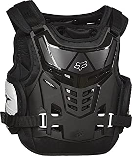 FOX YOUTH RAPTOR PROFRAME LC CHEST PROTECTOR BLACK/WHITE - ONCE SIZE FITS MOST - YOUTH