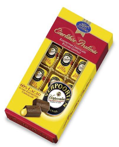 RCP Verpoorten Eierlikör-Pralinés, Zartbitter-Schokolade, Flüssige Füllung, Alkoholhaltig, Tolles Geschenk, 2 x 120 g