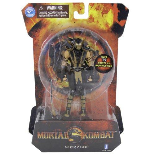 Zoofy International Mortal Kombat Mk9 4' Action Figure Scorpion