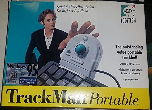 Fees free Logitech TrackMan Portable TracBall IBM Max 46% OFF TrackBall for