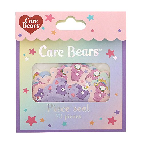 Care Bears Kawaii Sticker Flakes by Japanese Company Sun Star. for Scrapbooking Diary Planner Album Phone Case Laptop Card Making