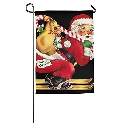 Christmas Gifts Indoor Outdoor Garden Flag House Decorative Garden Flag Polyester Flag Banner 1218inch 1827inch For Choose