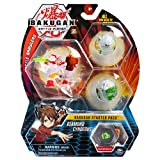 Bakugan Starter Pack 3-Pack, Diamond Cyndeous, Collectible Transforming Creatures, for Ages 6 and Up