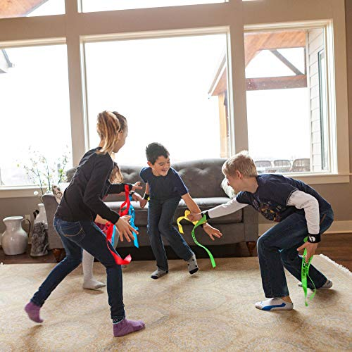 Ribbon Ninja is an awesome indoor active game for kids to get exercise indoors