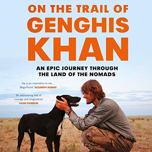 On the Trail of Genghis Khan cover art