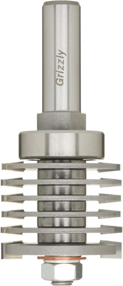 Grizzly Industrial Max 83% OFF C1682 - Adj. famous Finger w Guide Bit Bearing Joint