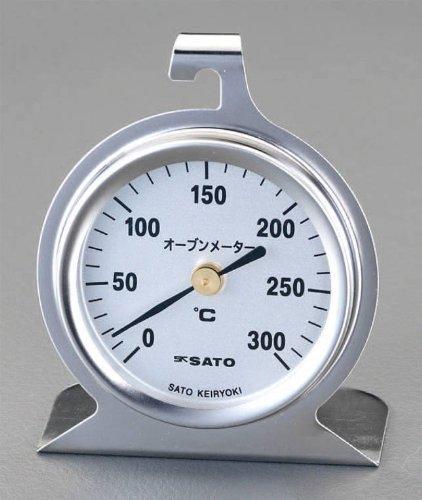 エスコ 60mmオーブン温度計 EA728AS-14