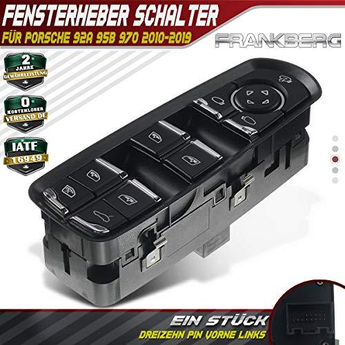 Fensterheber Schalter Taste Vorne Links für Cayenne 92A Macan 95B Panamera 970 2010-2020 7PP959858RDML