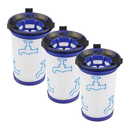 Youmine Filtro de Accesorios de Aspiradora de 3 Piezas para Piezas de Repuesto ZR009001 Rowenta Air Force 360 X-Pert RH9015WO