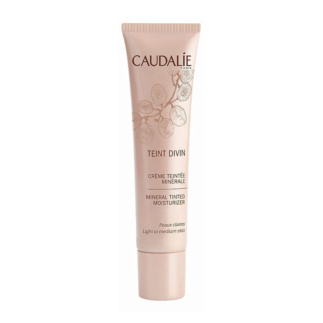 モチーフ無条件スロットCaudalie Teint Divin Tinted Moisturizer Light To Medium Skin 30ml [並行輸入品]