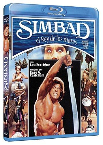 Simbad, El Rey De Los Mares BD 1989 Sinbad of the Seven Seas [Blu-ray]