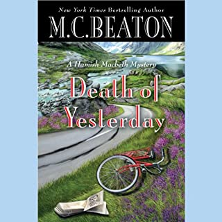 Death of Yesterday audiobook cover art