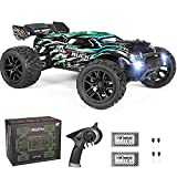 2020 New Version Hobbyist Grade RC Truggy Hailstorm: Upgraded 4WD chassis design, front and rear gear differentials, and metal drive shafts make this car more stable and drop-resistant, which can effectively prevent the impact of various accidental i...