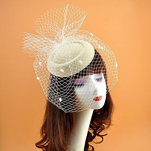 tongchuang Wedding Bridal Ranking TOP6 Hats Headpiece Party Bridcag Black Hat 4 years warranty