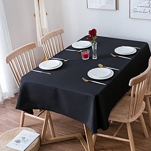 Mantel Moderno Y Simple De Color Sólido Rectangular para Escritorio, Adecuado para Reuniones Familiares, Fiestas De Cumpleaños, Banquetes, Manteles De Hotel En Muchos Lugares.
