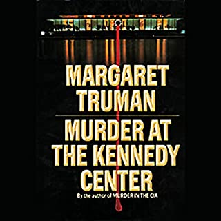 Murder at the Kennedy Center audiobook cover art