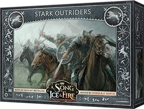 CoolMiniOrNot CMNSIF102 A Song of Ice and Fire Miniatures Spiel: Stark Outriders Expansion, Mehrfarbig