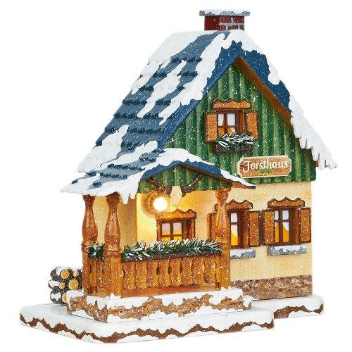 Hubrig Neuheit 2014 - Winterhaus Forsthaus Erzgebirge