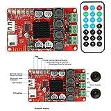 DAOKI TPA3116 2X50W Bluetooth Digital Amplifier Board Receiver Audio TF Card/U Disk Player FM Radio with Remote Control