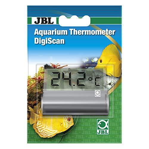 JBL 6122000 DigiScan Aquarium Thermometer, Grau