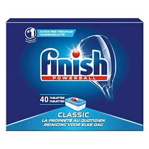 Finish Pastilles Lave-Vaisselle Powerball Classic 40 Tablettes Lave-Vaisselle