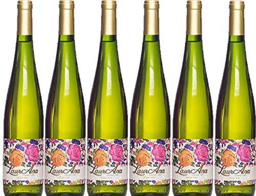 LaurAna Verdejo - Weißwein - Wein aus dem Land Kastilien - 6 Flaschen x 750 ml