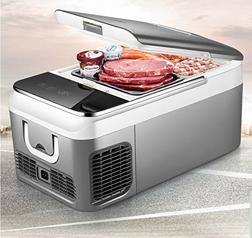 Comprajunta Minikörper Auto Kühlschrank Gefrierschrank Für Zu Hause, Digitalanzeige, Anti-Agitation,26L