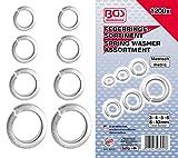 Bgs 8053 - Assortimento Rondelle Elastiche Da 1200 Pezzi...