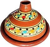 marocstore, pentola ideale per cucinare il piatto tipico marocchino tajine, diametro di 35 cm, per 4-6 persone