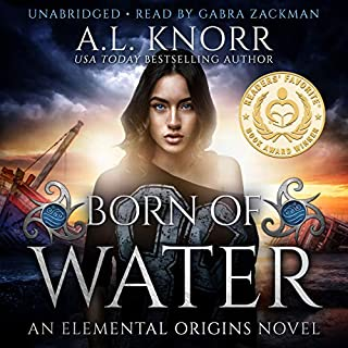 Born of Water: An Elemental Origins Novel Titelbild