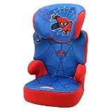 silla coche spiderman