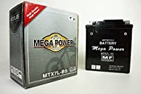 バイク バッテリー MTX7L-BS 一年保証 メンテナンスフリー BALIUS2 (バイリオス2) / BALIUS (バイオス) / Vツイン マグナ 型式 MC29 / ジャイロキャノピー 型式 TA02 / グラストラッカービッグボーイ 型式 NJ4BA・NJ4DA / ジェイド 型式 MC23 / 250TR / リード110 / ゼルビス (XELVIS) / バンバン200 / CBR250R / CBR250RR