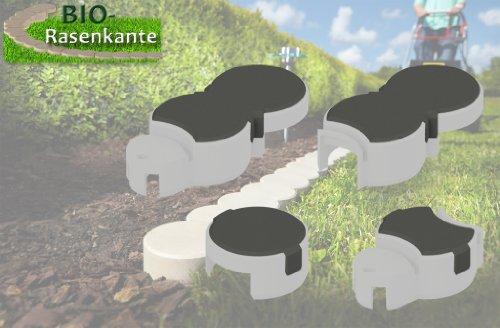 Bio-Rasenkante SB-NFP Rasenkanten, Schneckenbremse, braun