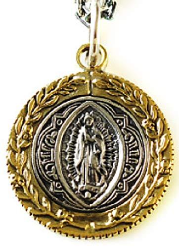 pe1851 [ブランド名:2PIECES] シルバー メンズ ネックレス ペンダント マリア プレイハンズ ゴールド コイン ペンダントトップのみ