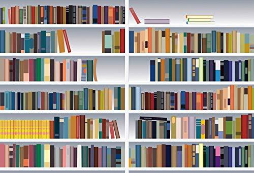 Fondos de fotografa de Libros de estantera Interior de Biblioteca Fondos fotogrficos para Estudio fotogrfico A8 5x3ft / 1,5x1m