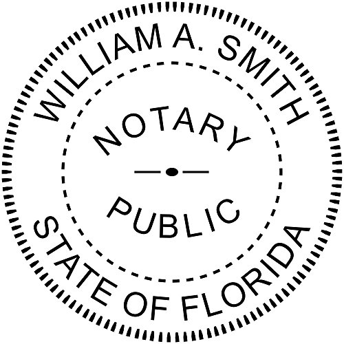 Custom Notary Embosser, Customizable for All 50 States, Embossed Notary Seal