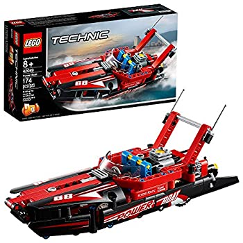 LEGO Technic Power Boat 42089 Building Kit  174 Pieces   Discontinued by Manufacturer