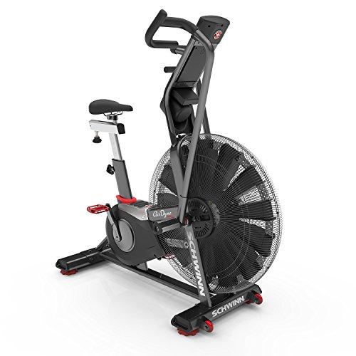 Schwinn Airdyne AD8, Profi-Fitnessbike mit grenzenlosem Luftwiderstand, LCD-Konsole mit Watt-Anzeige, Trainingsprogramme für HIIT, max. Benutzergewicht 160 kg, Trinkflaschenhalterung, Crossfit Trainer