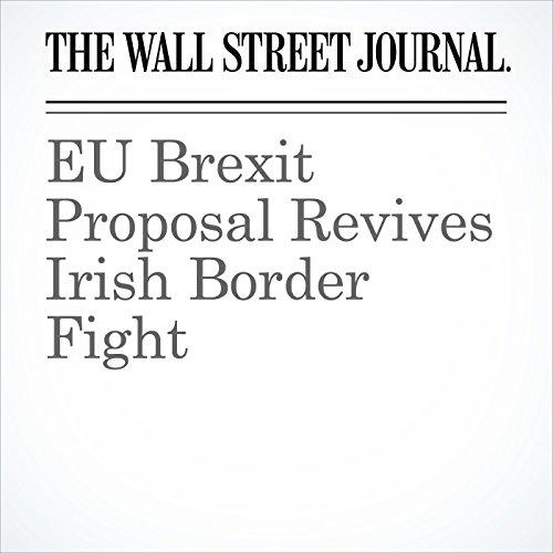 EU Brexit Proposal Revives Irish Border Fight copertina