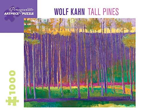 Wolf Kahn Tall Pines 1000-Piece Jigsaw Puzzle