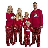 Mad Dog Concepts 3 PC Fleece Pajama Sleep Set Penguin Family PJ Set with Slipper Socks - Toddler Size S (2T)