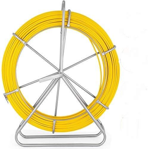 VEVOR Cable de Fibra de Vidrio 8 mm x 150 m, Rodillo...