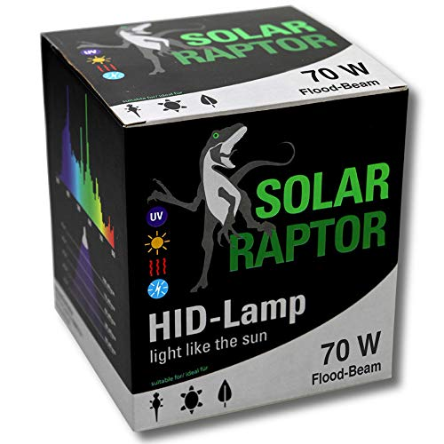 Econlux SolarRaptor 70W PAR38 HID-Floodstraler