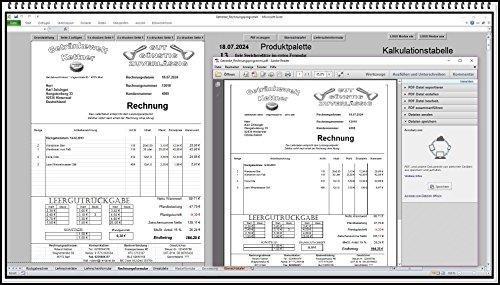 Rechnungsprogramm Rechnungssoftware auch 5% oder 16% MwSt Getränkehandel Trinkhalle Getränkemarkt Getränke. Fakturierungssoftware mit Lieferschein und Pfandschein