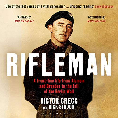 Rifleman audiobook cover art