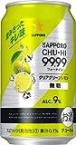 サッポロチューハイ 99.99 フォーナイン クリアグリーンレモン 無糖 [ チューハイ 350ml ]