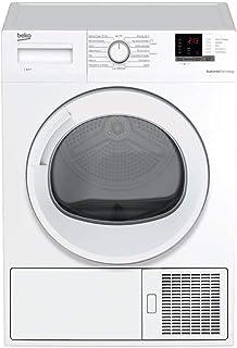 Beko DRX822W Autonome Charge avant 8kg A++ Blanc - Sèche-linge (Autonome, Charge avant, Pompe à chaleur, Blanc, Rotatif, G...