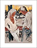 15x20 Farel, Pierre Art Print by Museum Prints Titled Brooklyn Sunset